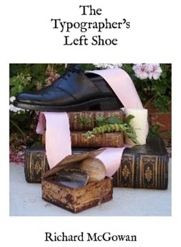 The Typographer's left shoe book cover
